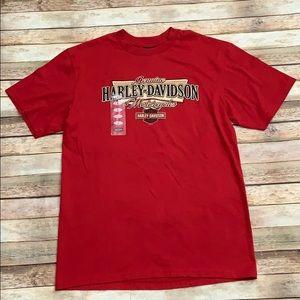 NWT Harley-Davidson Red Tee